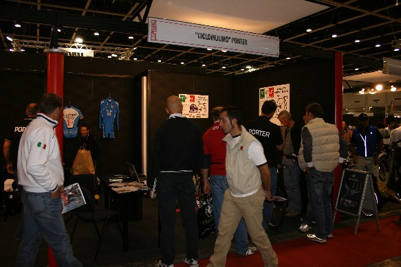 Lo stand all'Expobici