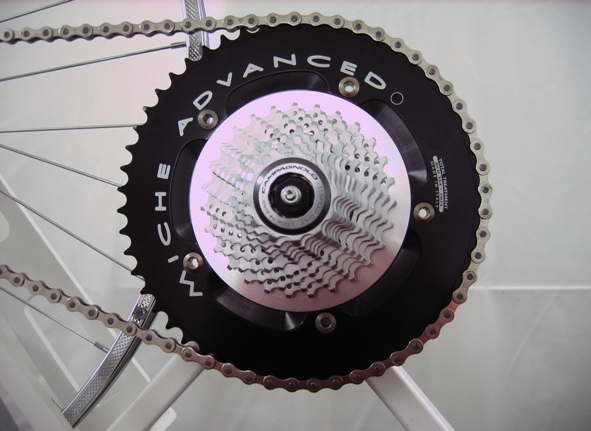 Particolare cassetta pignoni 11 velocità Campagnolo