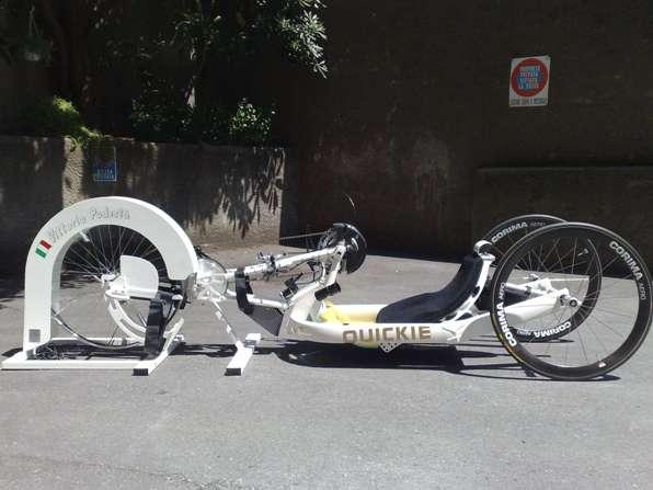 Ciclomulino personalizzato con handbike