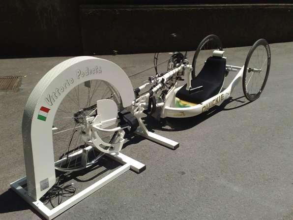 Handbike con ciclomulino